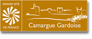 Logo Grand Site de France Camargue Gardoise